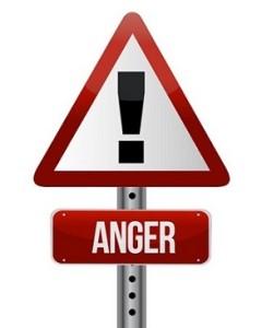 anger sign